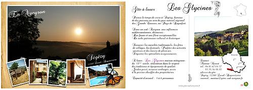 La Carte Postale de Ségézy, «Les Glycines»