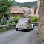 Balade en 2 cv dans l'Aveyron