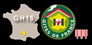 Label Gîte de France, Sud-Aveyron, 3 épis