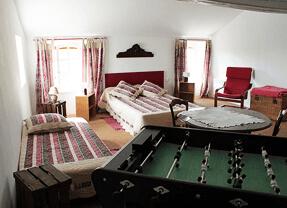 Chambre, second étage