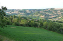 Le hameau au centre
